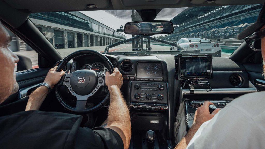 Nissan GT-R: Το μετατρέψανε σε ένα εργαλείο κινηματογράφισης!